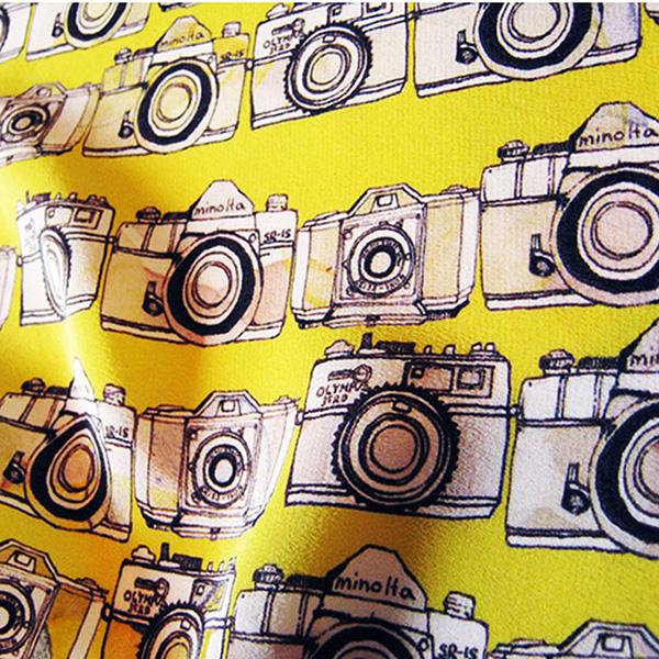 Flash digital print design camera Manami Sakurai