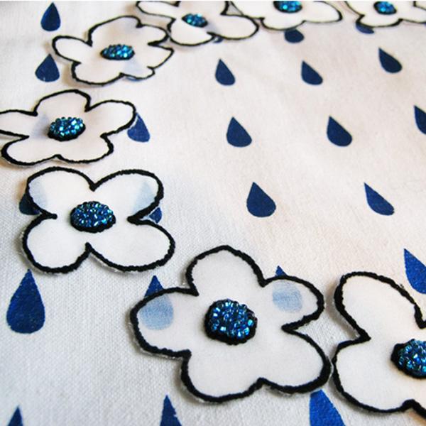 Textile print design Manami Sakurai
