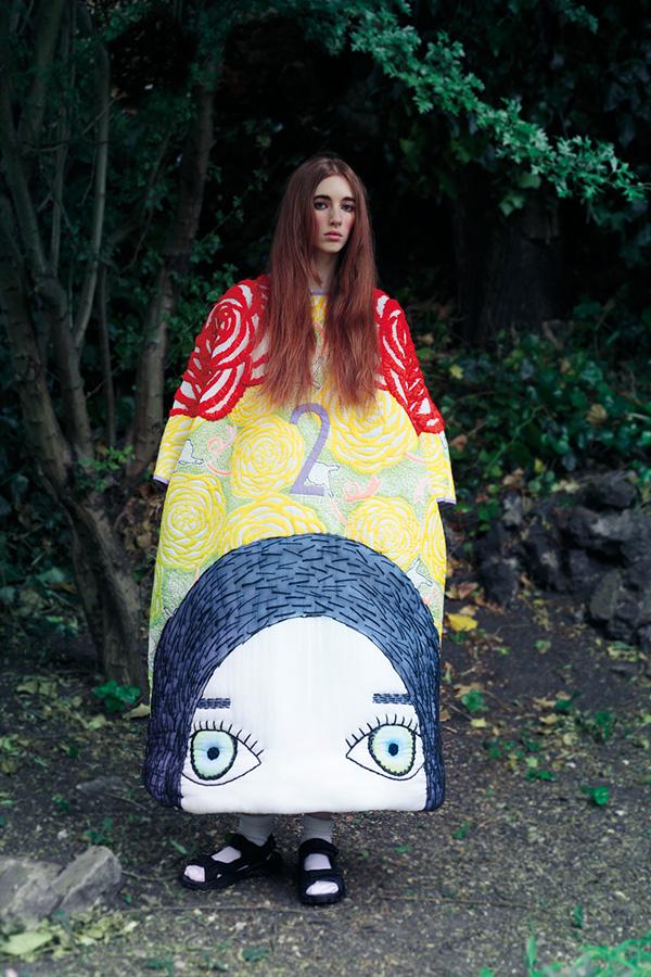 magine fashion Manami Sakurai Textile