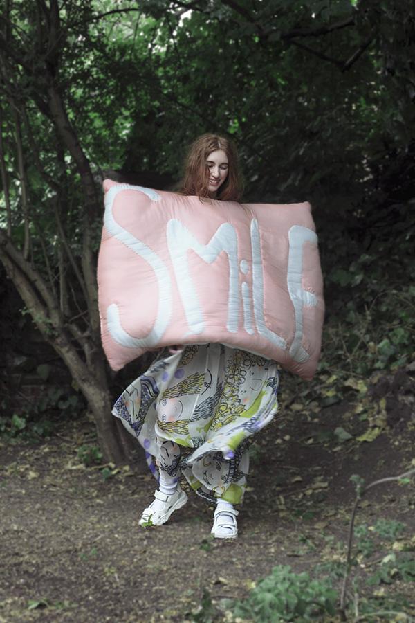 magine fashion Manami Sakurai Textile Central Saint Martins