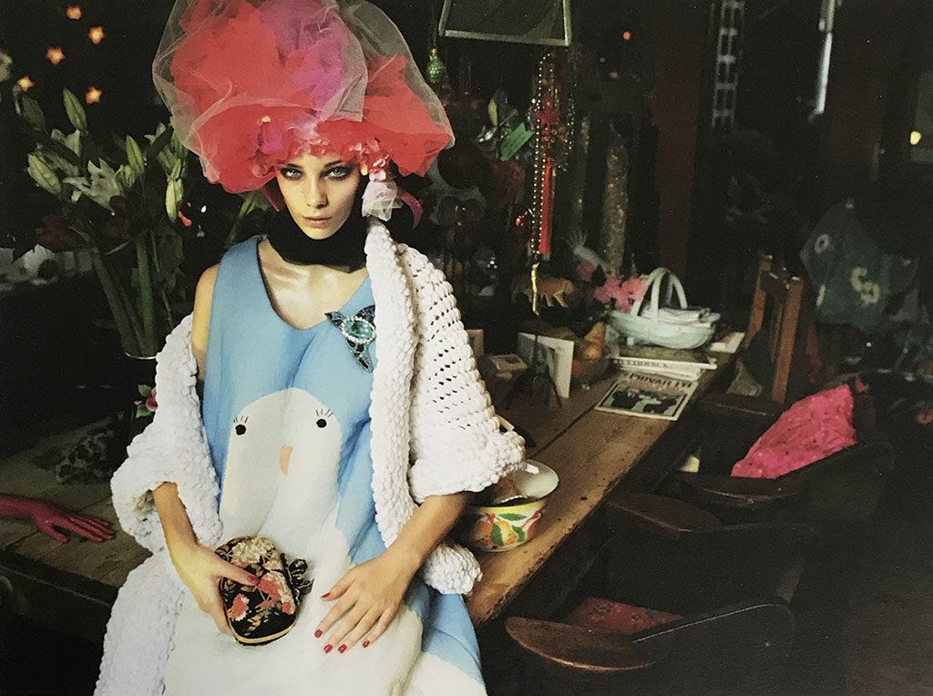 Dove dress by Manami Sakurai on 1 Granary Magazine