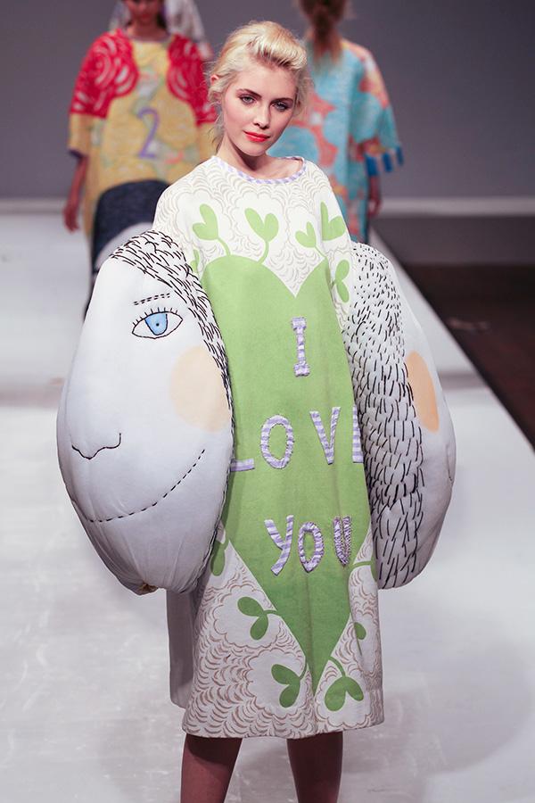 Central Saint Martins Fashion Show Manami Sakurai