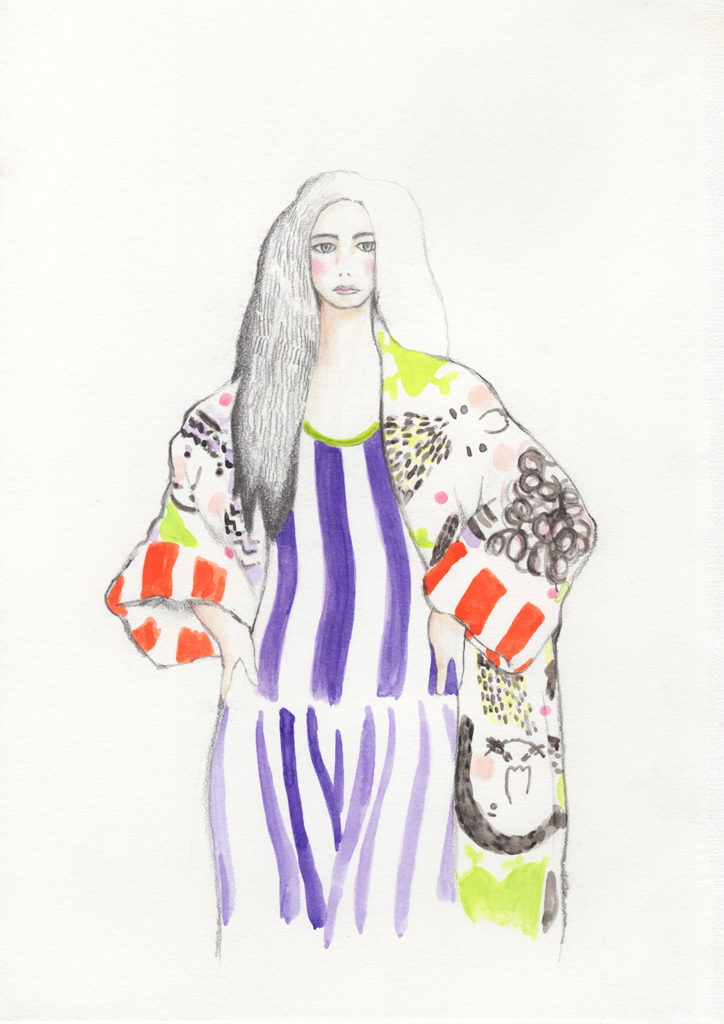 Imagine Fashion Illustration Manami Sakurai