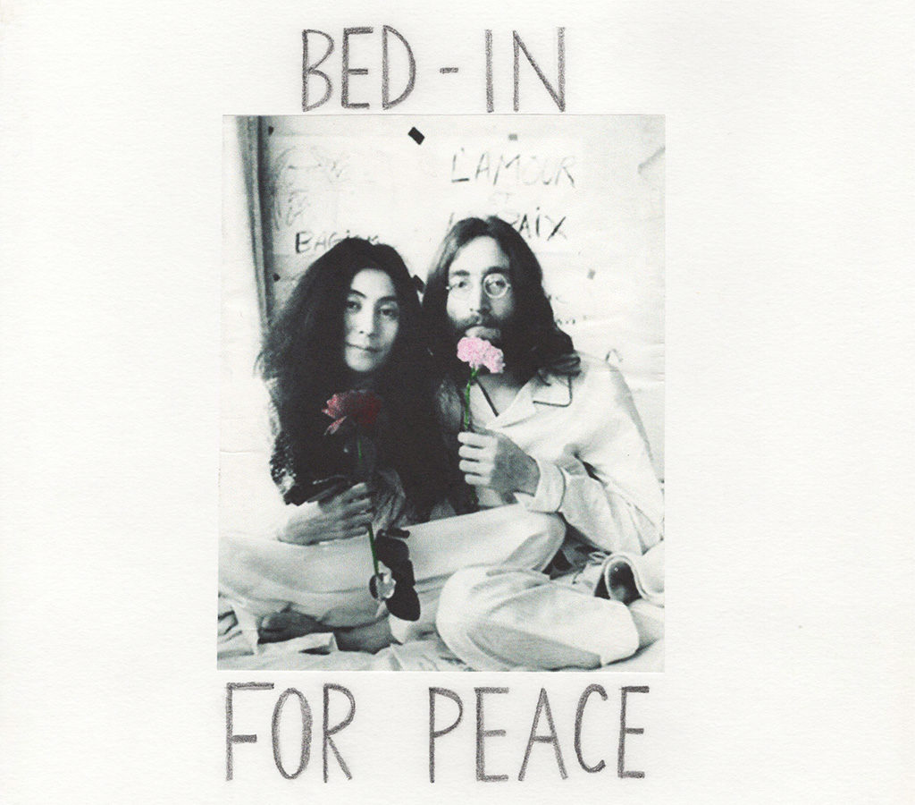 BED-IN for Peace Manami Sakurai