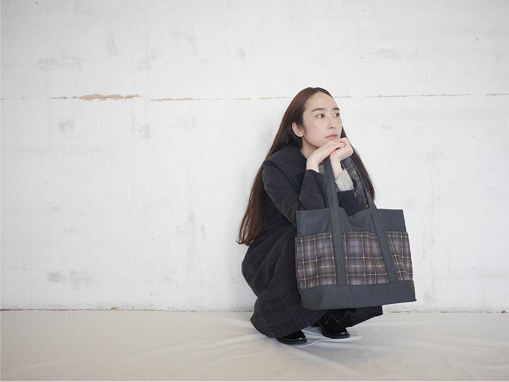 TSUMIKI check Textile Manami Sakurai