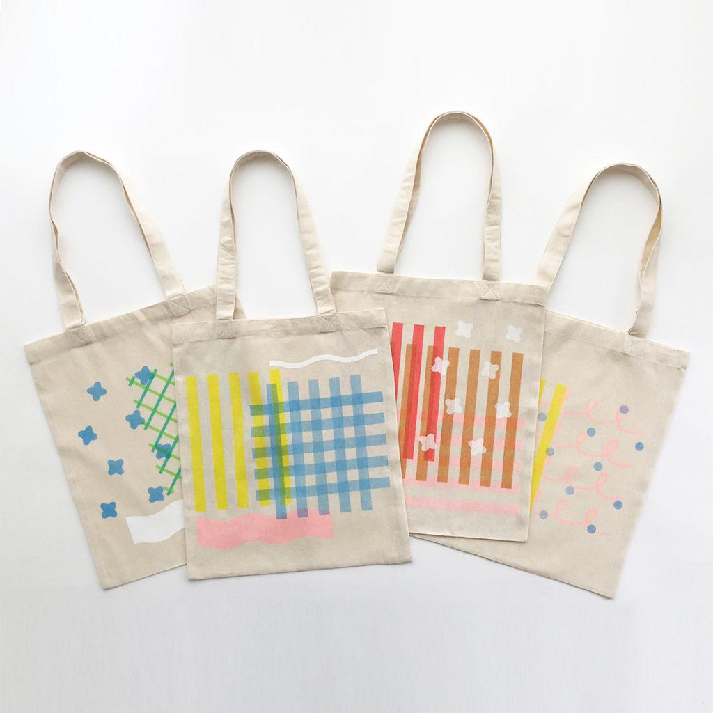 MUJI GINZA Workshop Manami Sakurai silkscreen 無印良品