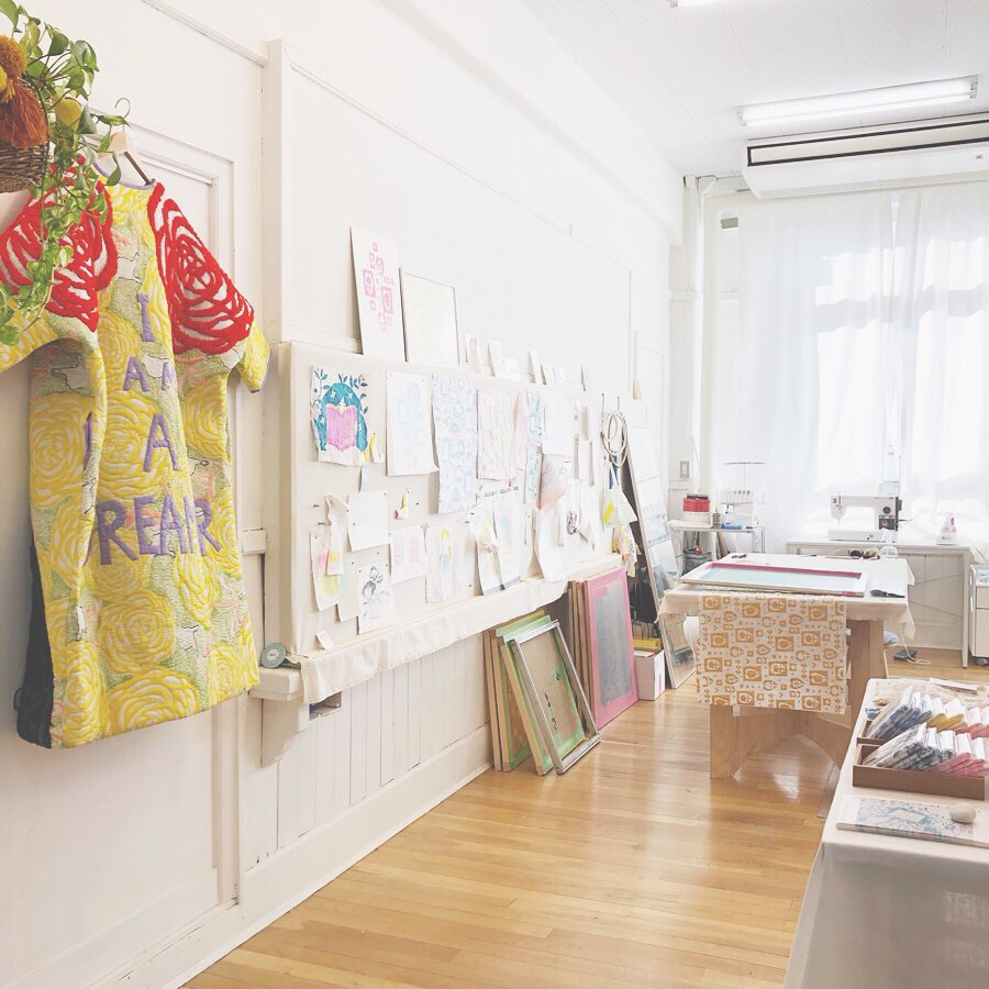 Manami Sakurai, Textile, Textile designer , designer's village,