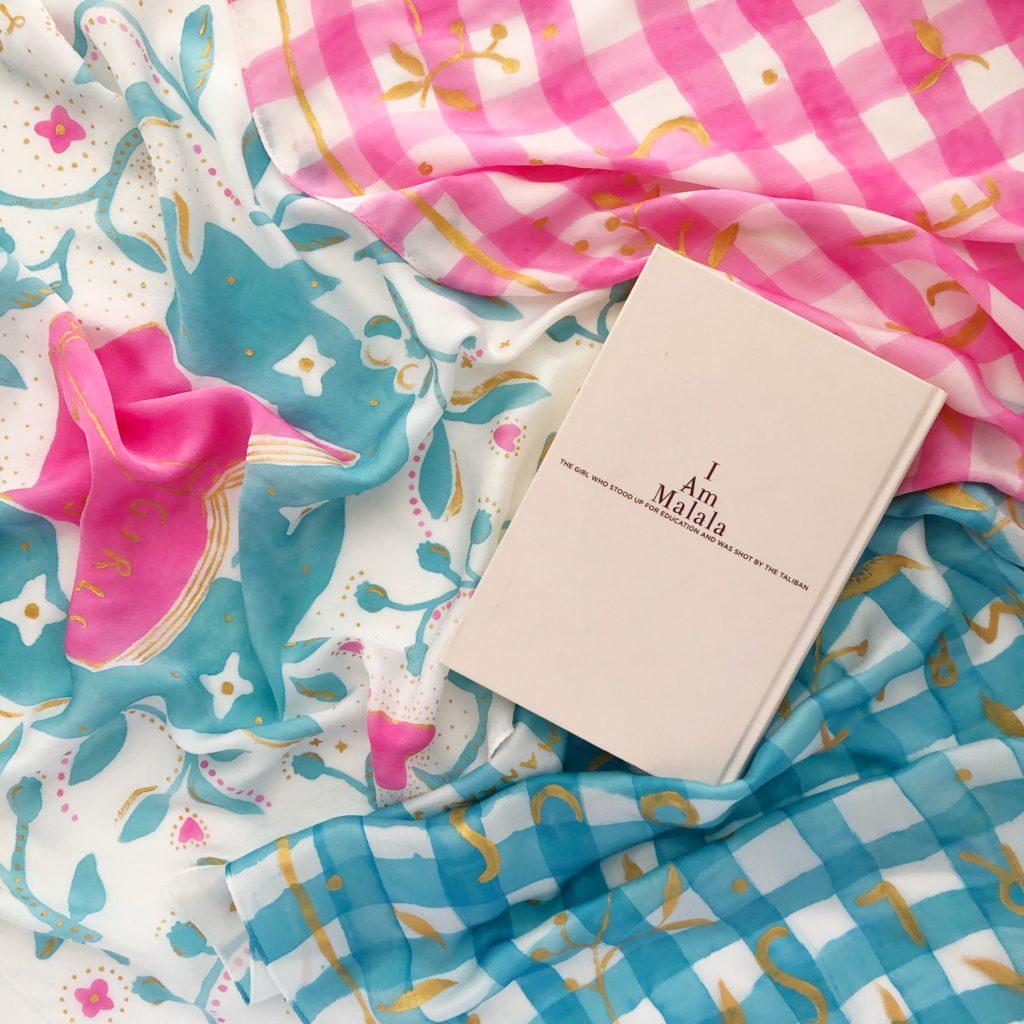 Manami Sakurai scarf textile design テキスタイル スカーフ